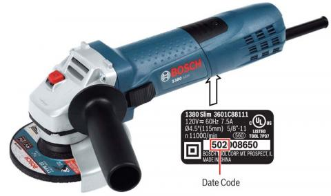 Bosch small angle grinders