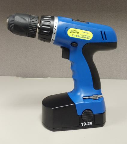 Harbor Freight Cordless Drill