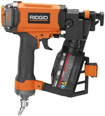 RIDGID Coil Roofing Nailer