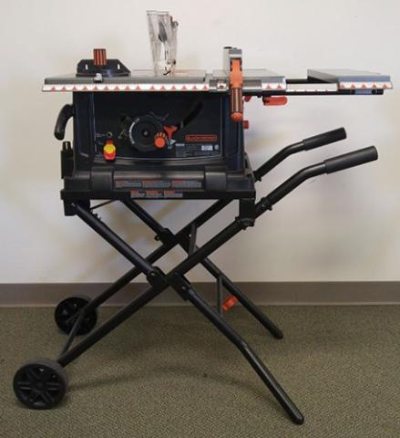 Black and Decker Recalled Table Saw
