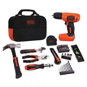 Black & Decker BDCD8PK Drill Project Kit