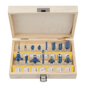 Hiltex Tungsten Carbide Router Bits