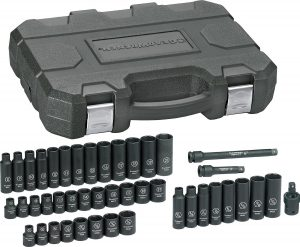 GearWrench SAE/Metric Drive Impact Socket Set