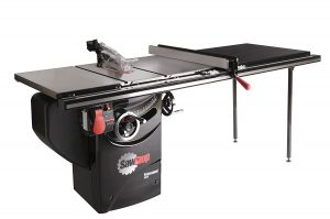 black table saw