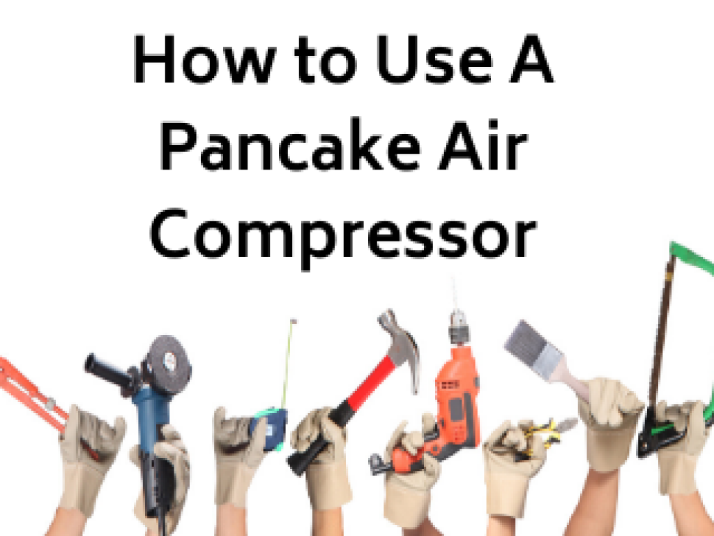 title page of article on how to use a pancake air compressor